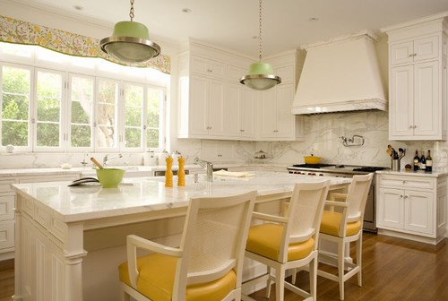 yellow-kitchen-barchairs