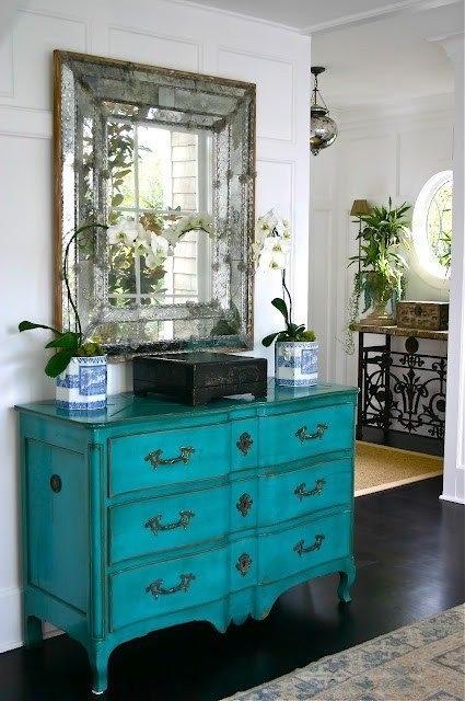 blue-refinished-dresser