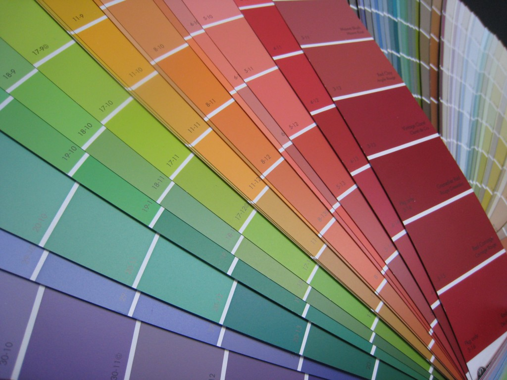 Finding your color confidence decor and you for Paint color spectrum
